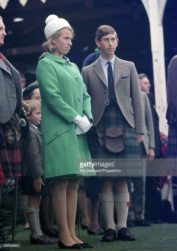 Princess Anne And Prince Charles At The Braemar Highland Gathering In Prinzessin Anne Prinzessin Adele
