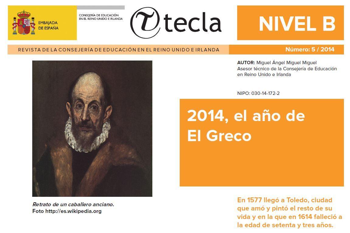 Tecla es una revista electrónica dirigida a estudiantes y profesorado de  español que publica mensualmente, durante el curso académico, la Consejería  de ...