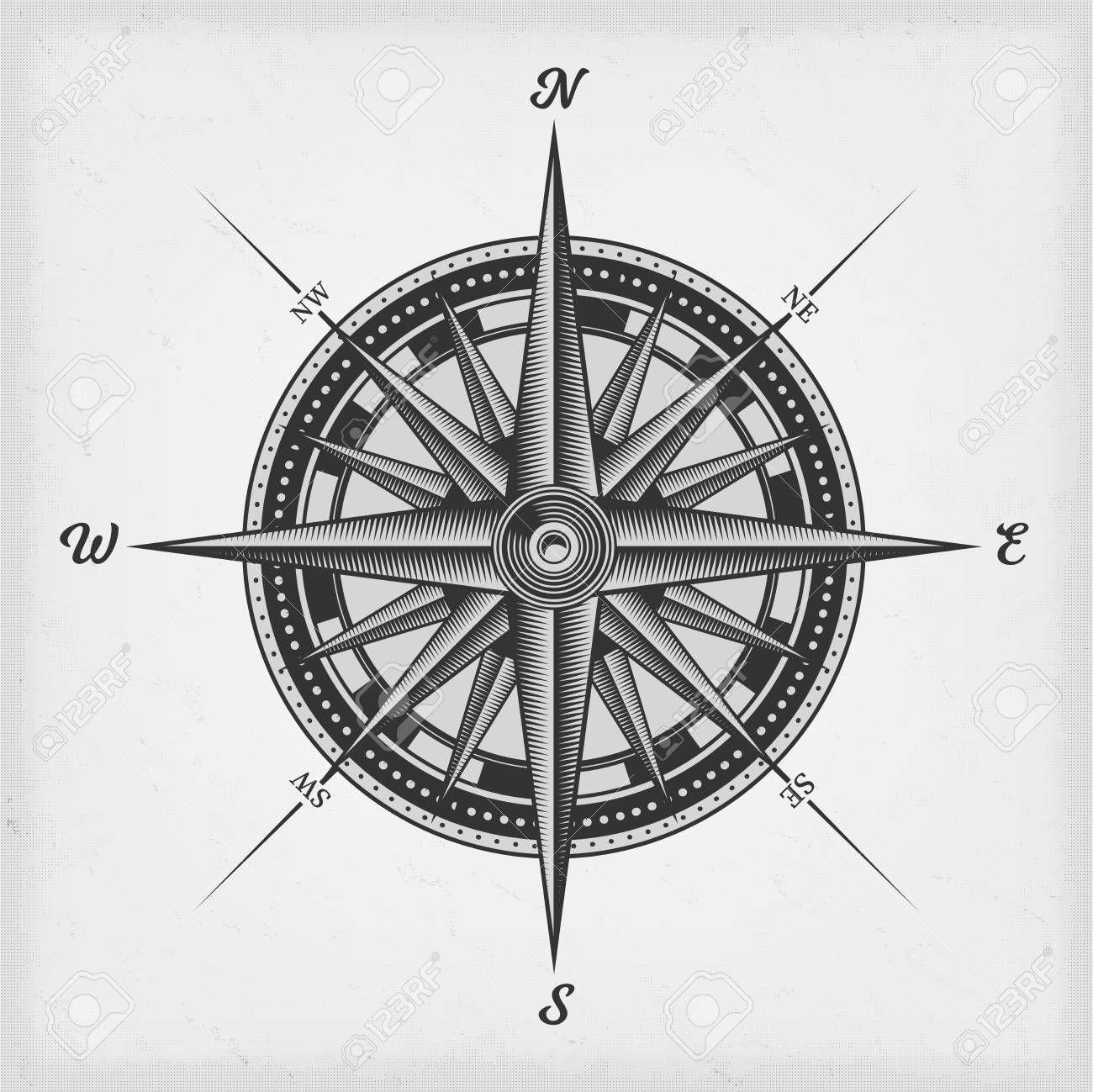 Awareness Compass Rose Tattoo Compass Tattoo Design Vintage Compass Tattoo