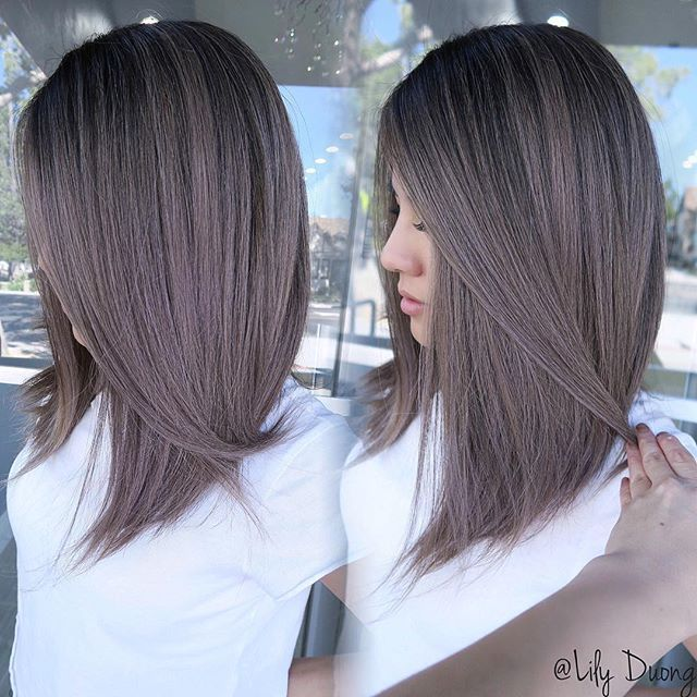 """Lily Duong COLORIST on Instagram: """"Babylights �Haircut by @anhcotran #hairbylily408 #colorist #ashy #nobrass #balayage #ombre #balayageombre #ombrehair #btcpics #modernsalon…"""""""