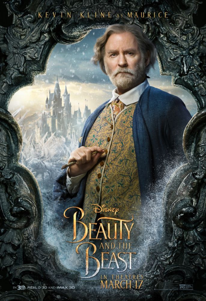 Kevin Kline As Maurice In Disneys Beauty And The Beast March 17 2017