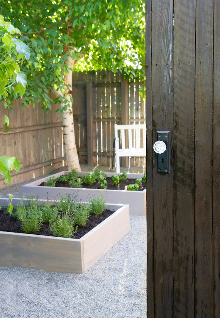 Raised Herb Garden An Outdoor Space Makeover Raised