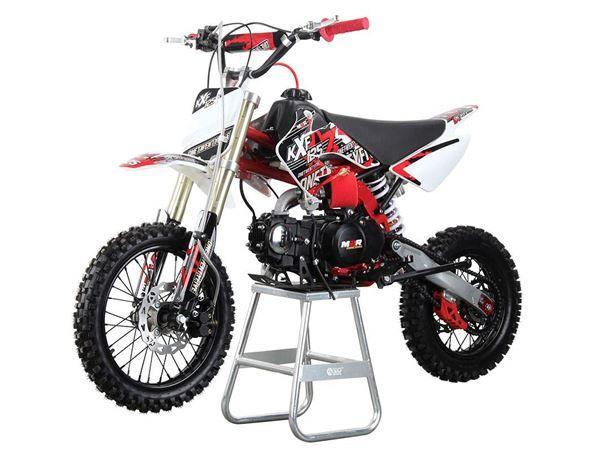 M2r Racing Kx125f 125cc Petrol 76cm Red Pit Bike Pit Bike Dune Buggy Bike