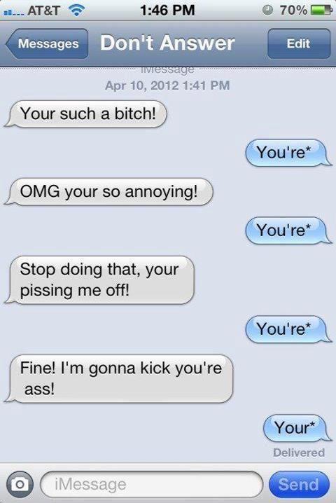i like grammar