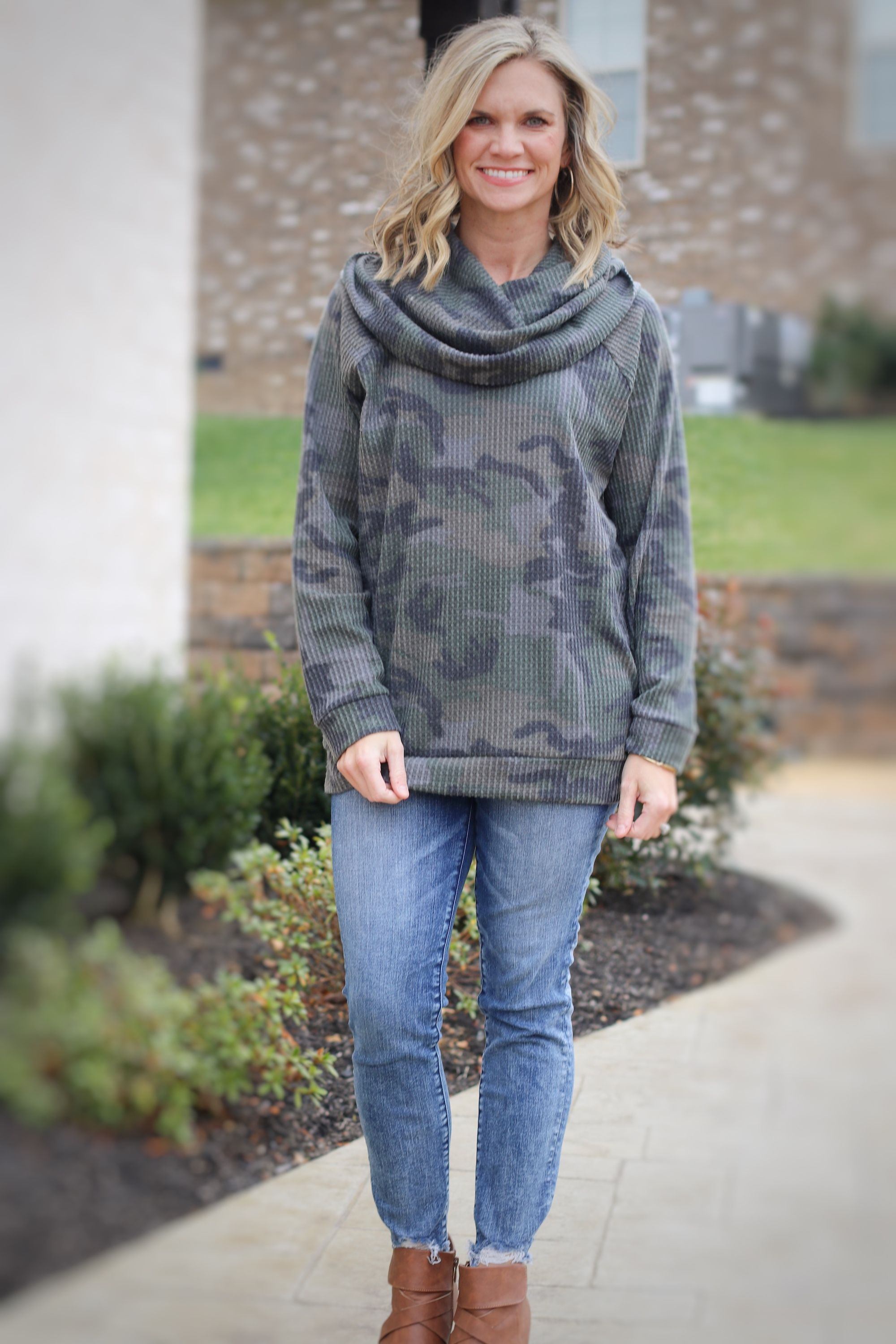 dd99163403ff3 Camo tunics for the win! we love this look and you can pair it with ...