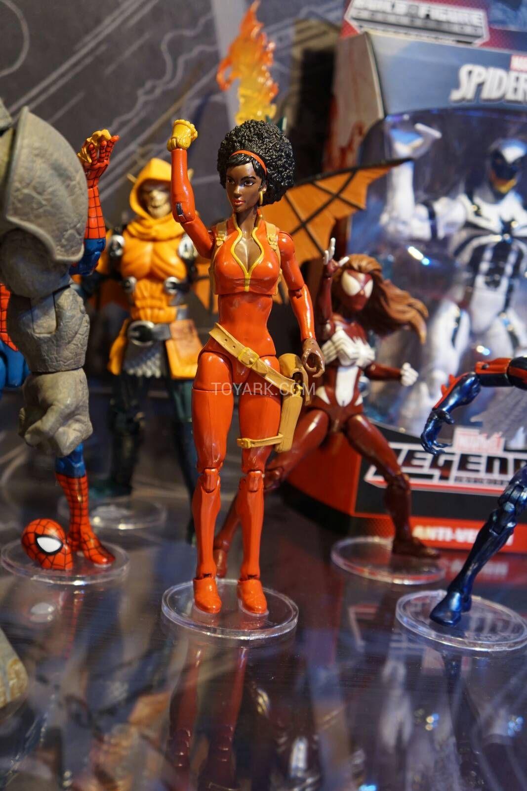Toy Fair 2015 Hasbro Marvel Legends Misty Knight!!! Via ToyArk