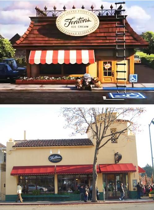 Up & Fenton's Ice Cream   Disneyland secrets, Disneyland, Disney attractions