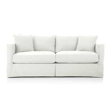 Willow Modern Slipcovered Sofa In 2019 Sleeper Sofa Slipcovers Sofa Furniture