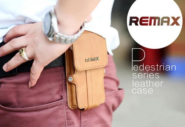 Pedestrian Series Leather Pouch