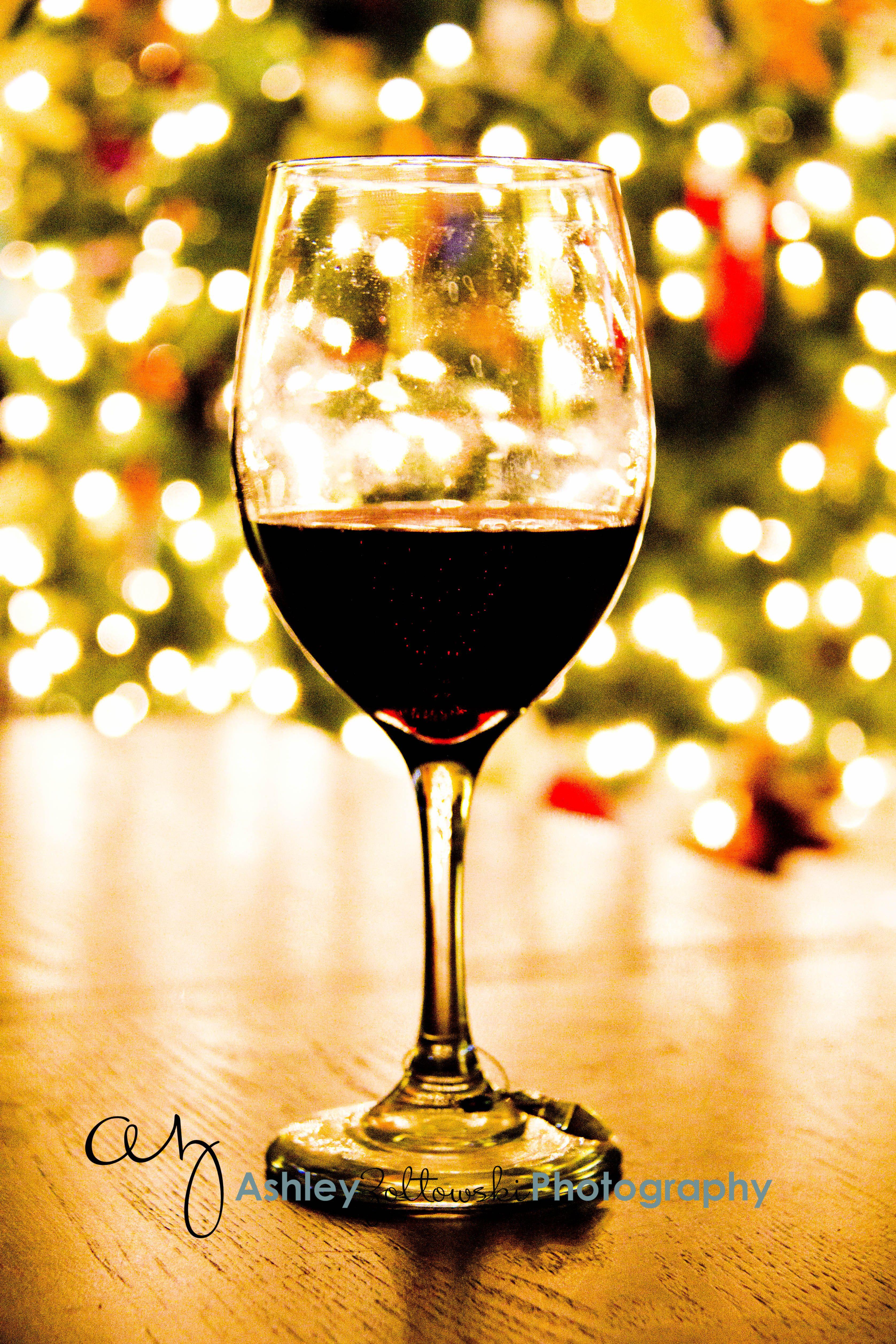 Christmas  Vino  Red Wine  Bokeh