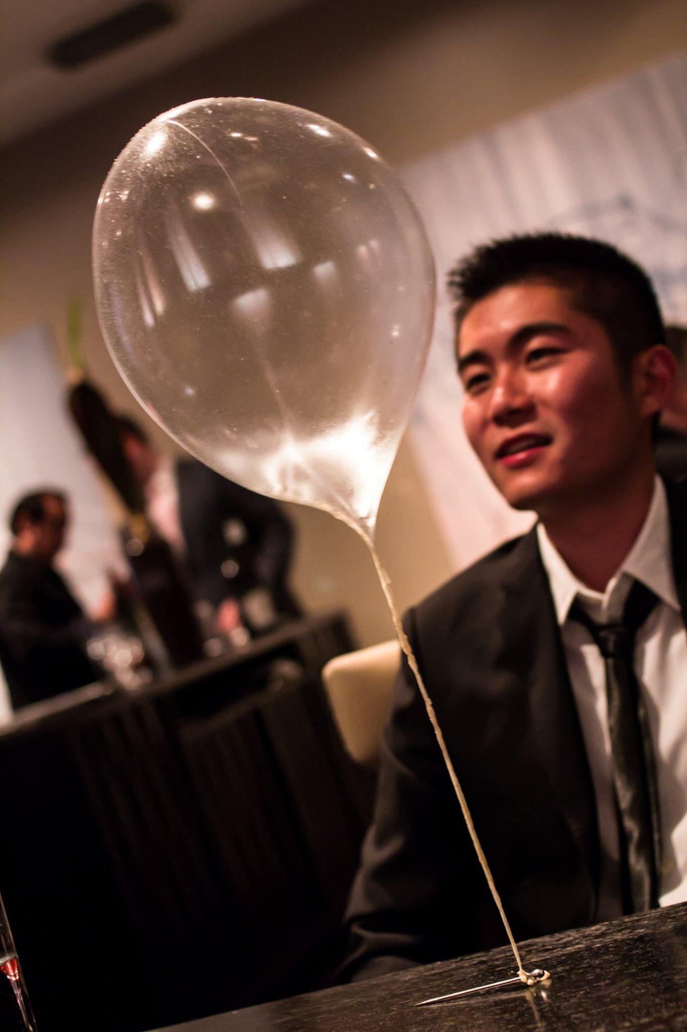 Course 15 Edible Balloons