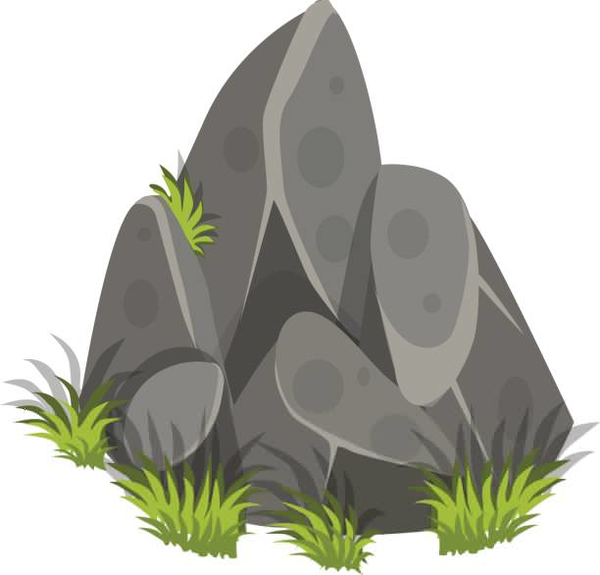 Image Result For Rocks Clipart Rock Clipart Cute Cartoon Animals Nature Wallpaper