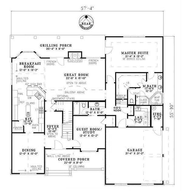 Craftsman Style Det Garage Garage Plans: Craftsman Style House Plan