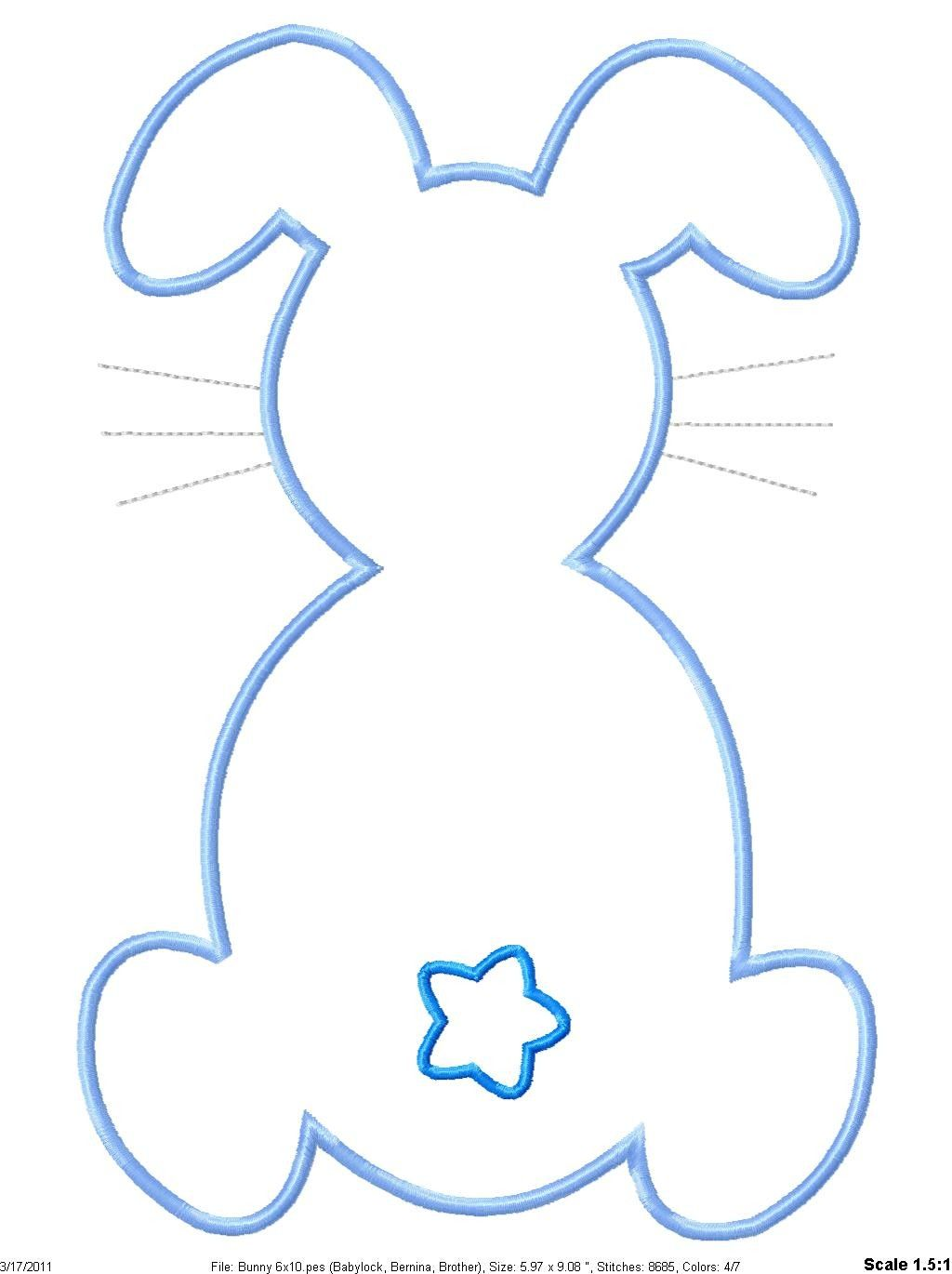 bunny template easter coloring pages pinterest bunny easter