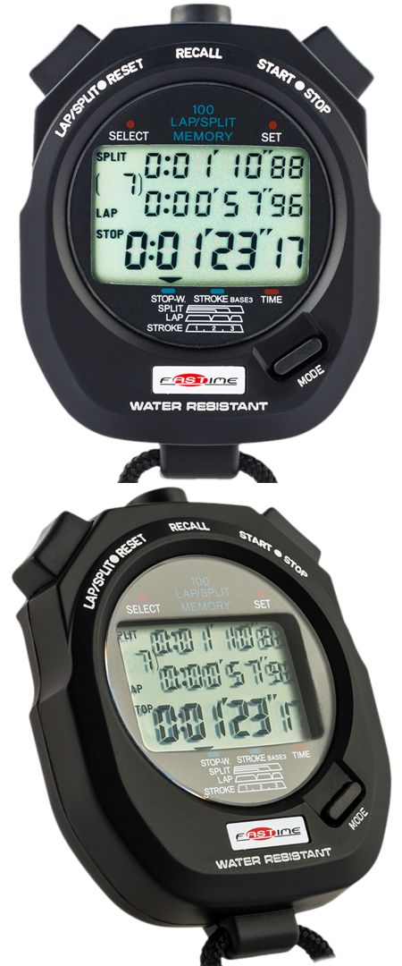 Stopwatches 166149: Fastime 9 Stopwatch For Rowing,Running,Swimming,Triathlon,Canoeing,Kayaking -> BUY IT NOW ONLY: $55 on eBay!