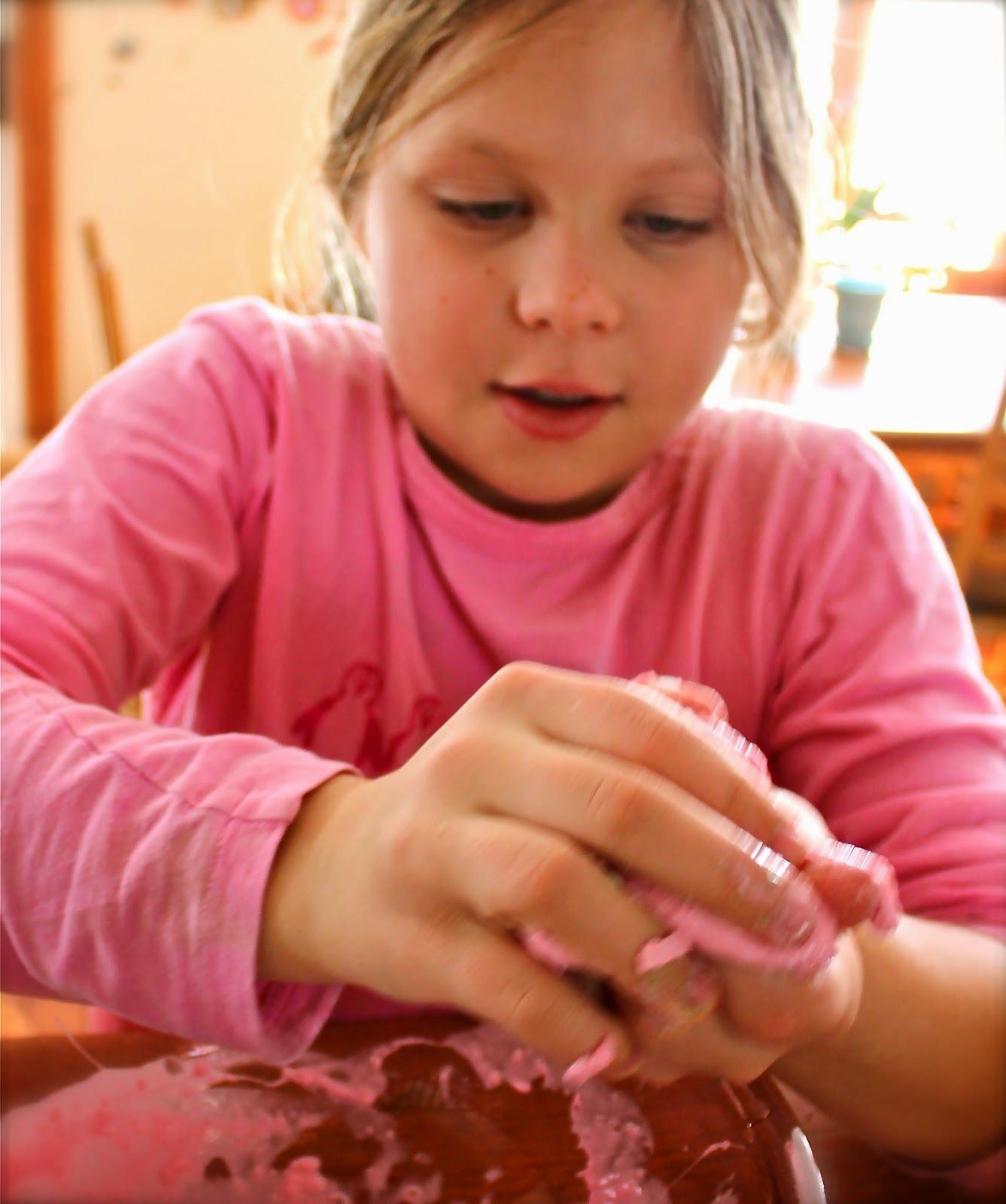 Homemade Silly Putty Eggs In