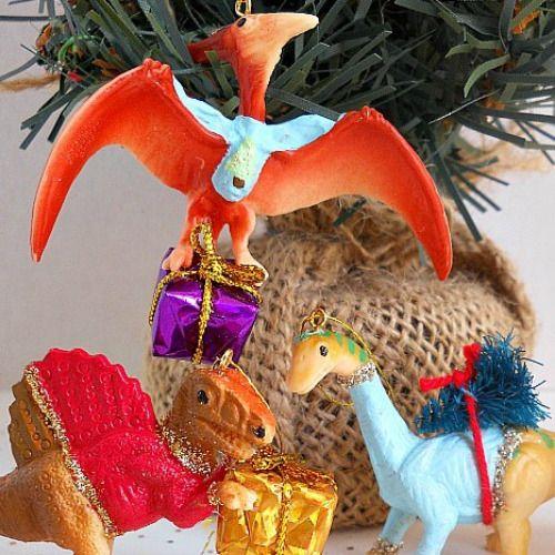 DIY Plastic Animal Ornaments
