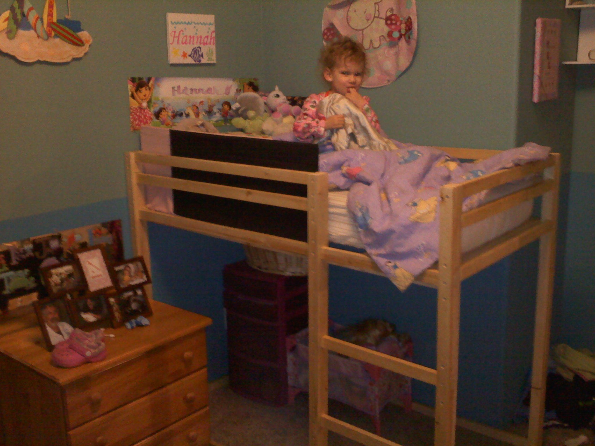 Toddler size loft bed Do It Yourself Home Projects from