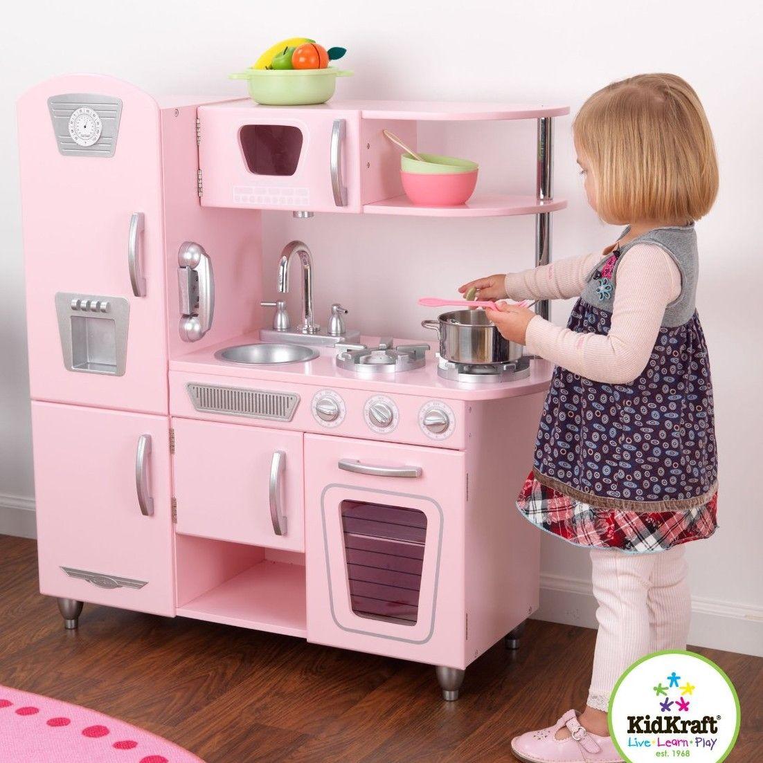 Vintage Kitchen Set  Wooden play kitchen, Kidkraft vintage