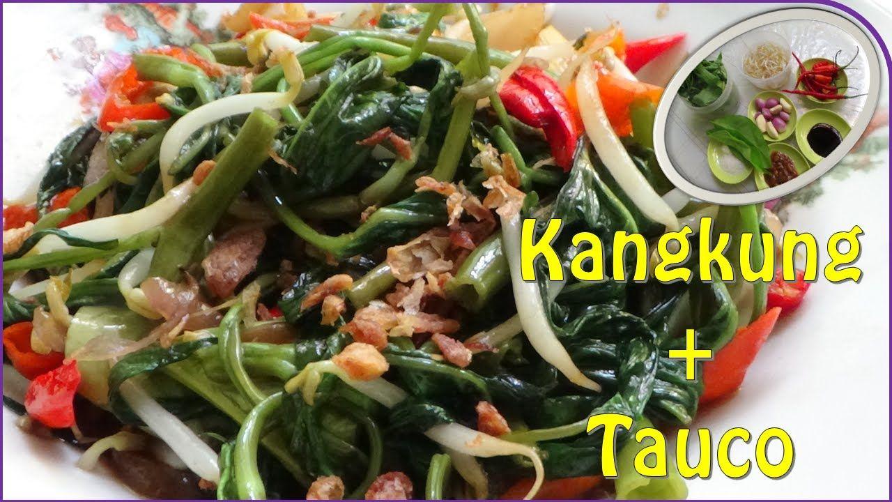 Resep Cah Kangkung Tauco Makanan Kangkung Resep