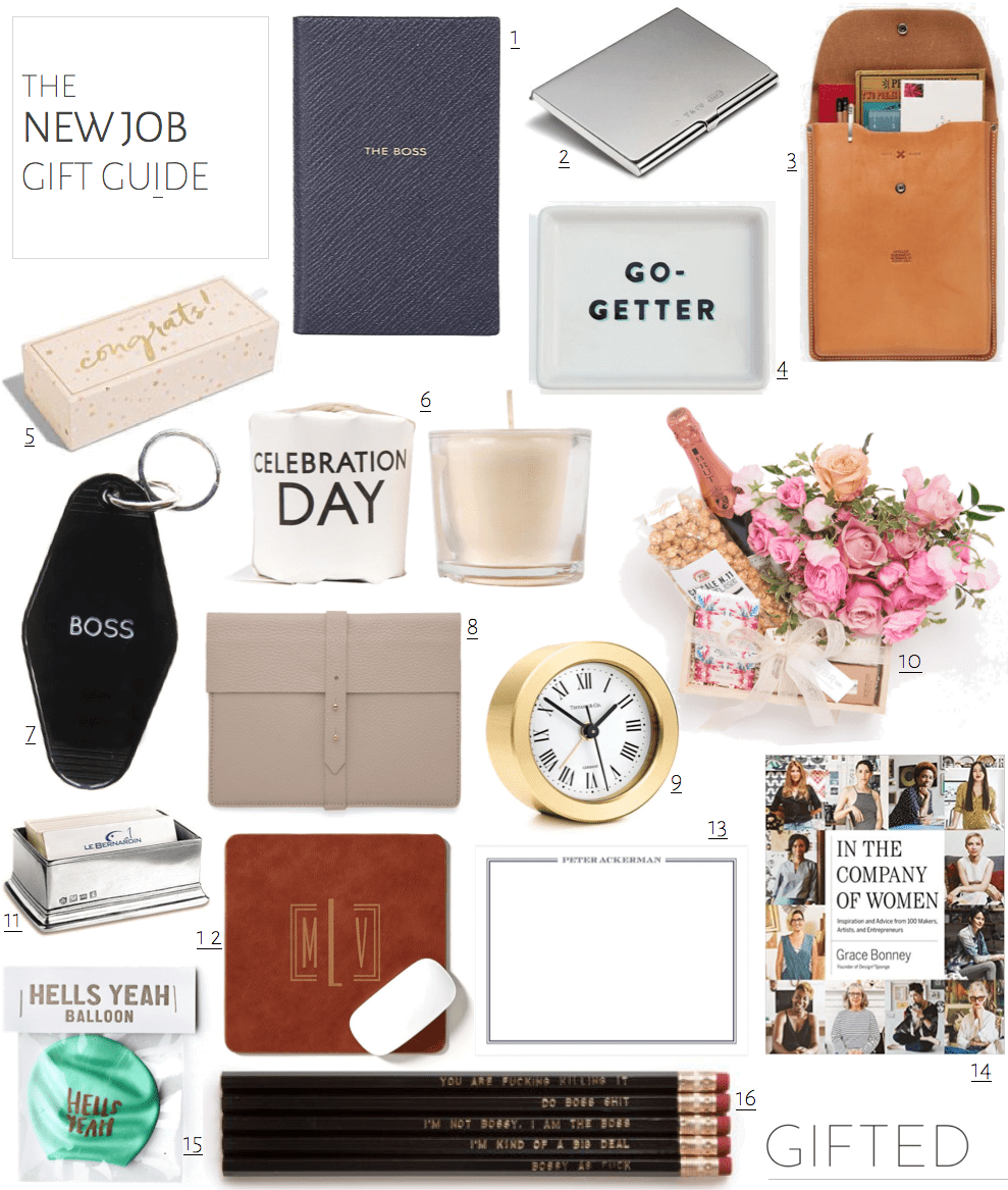 Gift Ideas For A New Job Or Promotion Gifted New Job