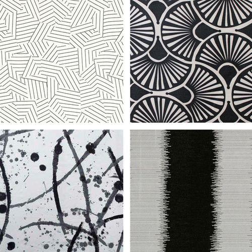 Black Upholstery Fabrics