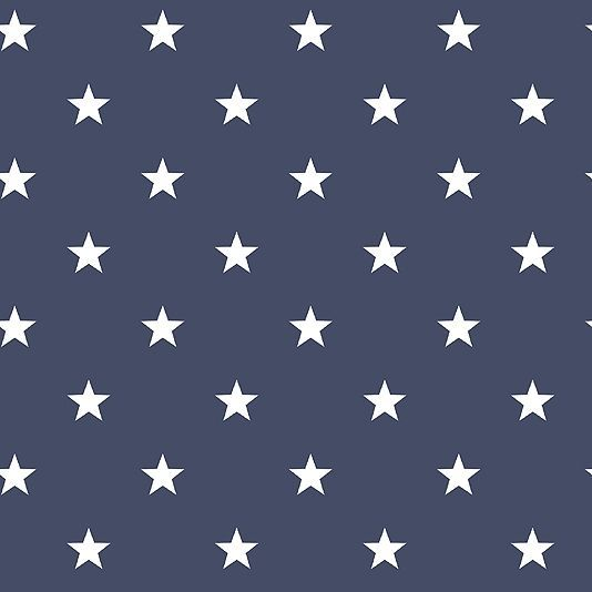 Deauville Stars Wallpaper An Navy Blue With All Over Star Design In White