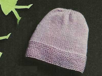 nuova versione nuovo concetto design distintivo Schemi per neonati: Berrettino rosa ai ferri | cappellini ...