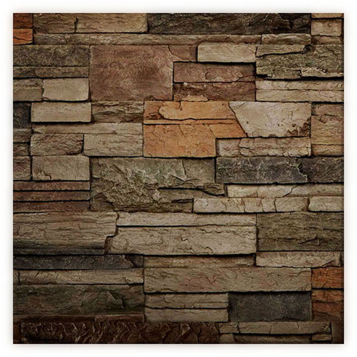 8 Inch W X 10 Inch H Dry Stack Endurathane Faux Stone Siding Panel Sample Terrastone Faux Stone Siding Stone Siding Stone Siding Panels