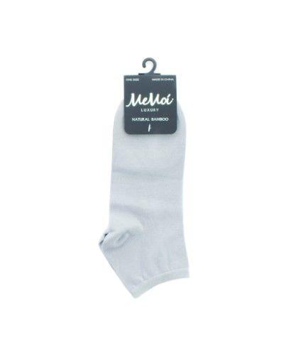 MeMoi Natural Blend Bamboo Low Cut Women's Socks, White