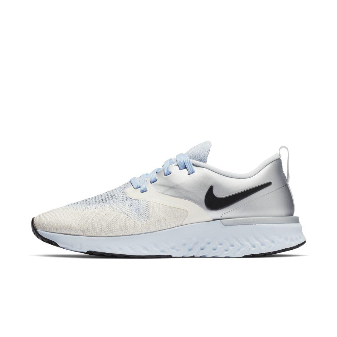 0926dfaa77a3e Nike Odyssey React Flyknit 2 Premium Women's Running Shoe Size 6.5  (Metallic Silver)