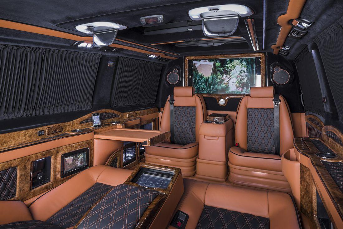 Klassen Noble Vito Mercedes Benz Business Luxury Van Mvd 1271