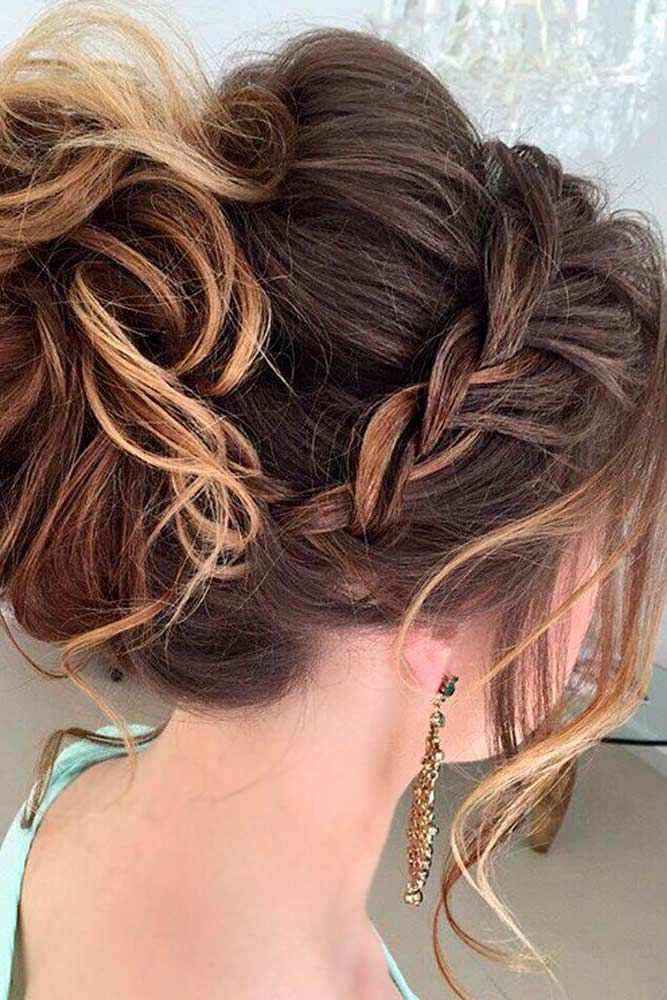 42 Braided Prom Hair Updos To Finish Your Fab Look Hair Styles Braided Prom Hair Dance Hairstyles
