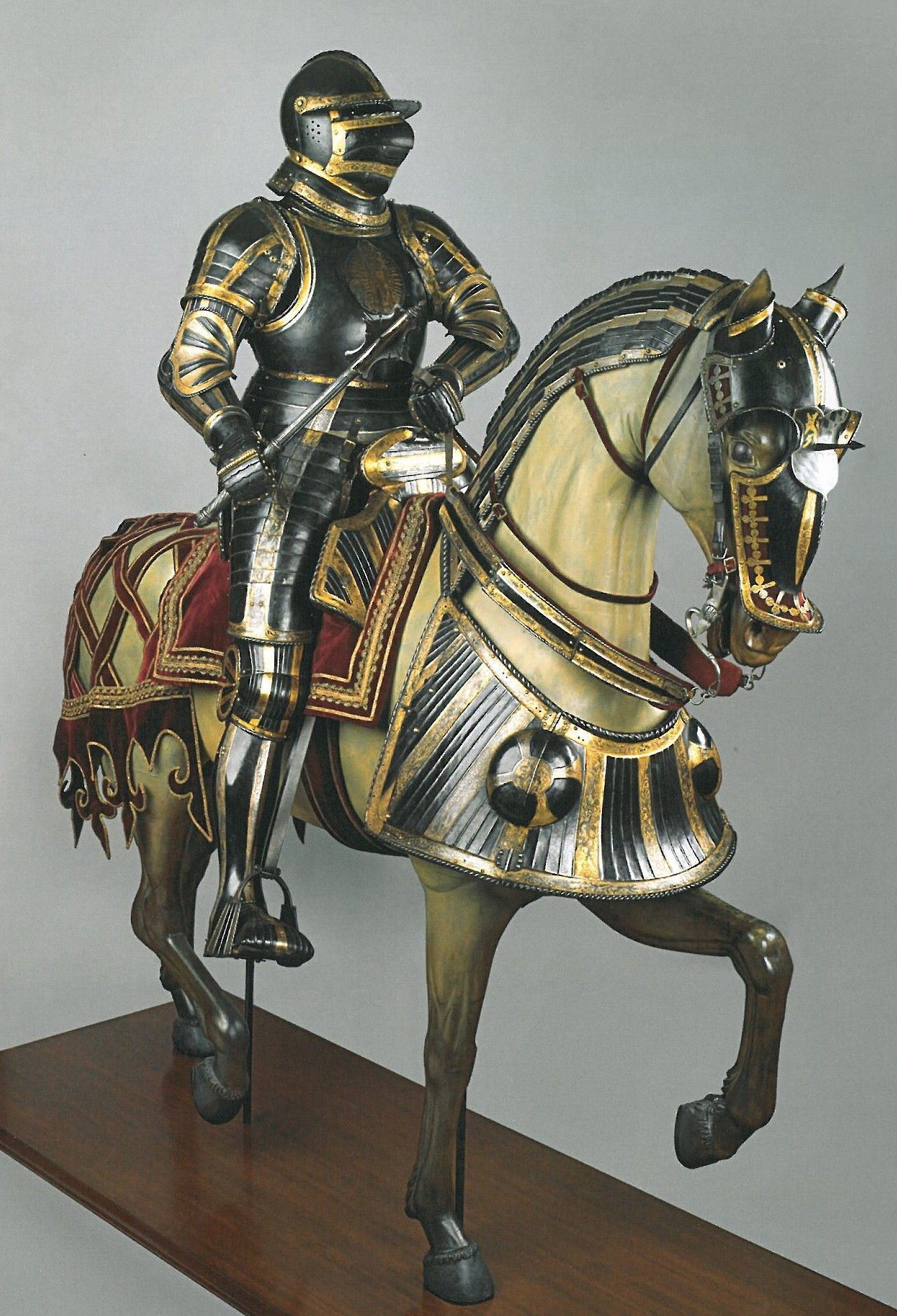 Image Result For Knights Me Val War Horse Armour
