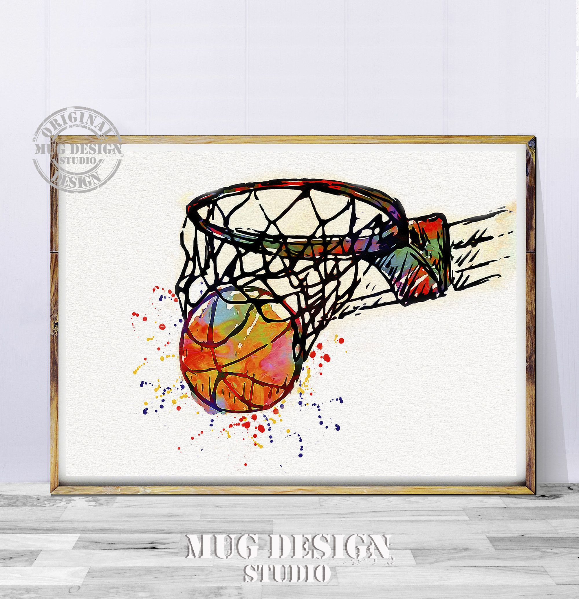 Basketball Art Basketball Print Basketball Watercolor Painting Sport Watercolor Sport Wall Art Basketball Print Basketball Poster Art Sports Wall Art Basketball Art Basketball Painting