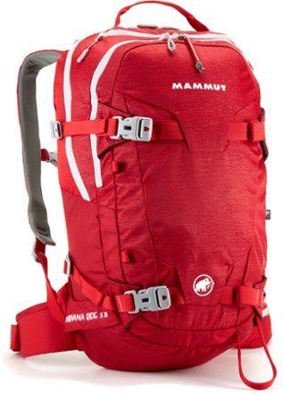 Mammut Nirvana Ride S 20 Pack Lava 20 Liter Snowboard Bag b2b9cf493f1ea