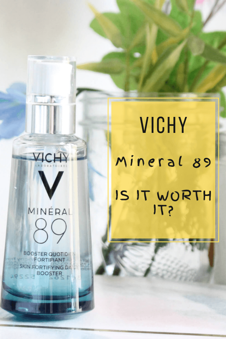 Vichy Mineral 89 Fortifying And Hydrating Daily Skin Booster Vichy Moisturizer Facemoisturizerfordryskin Vichy Moisturizer For Dry Skin Vichy Moisturizer
