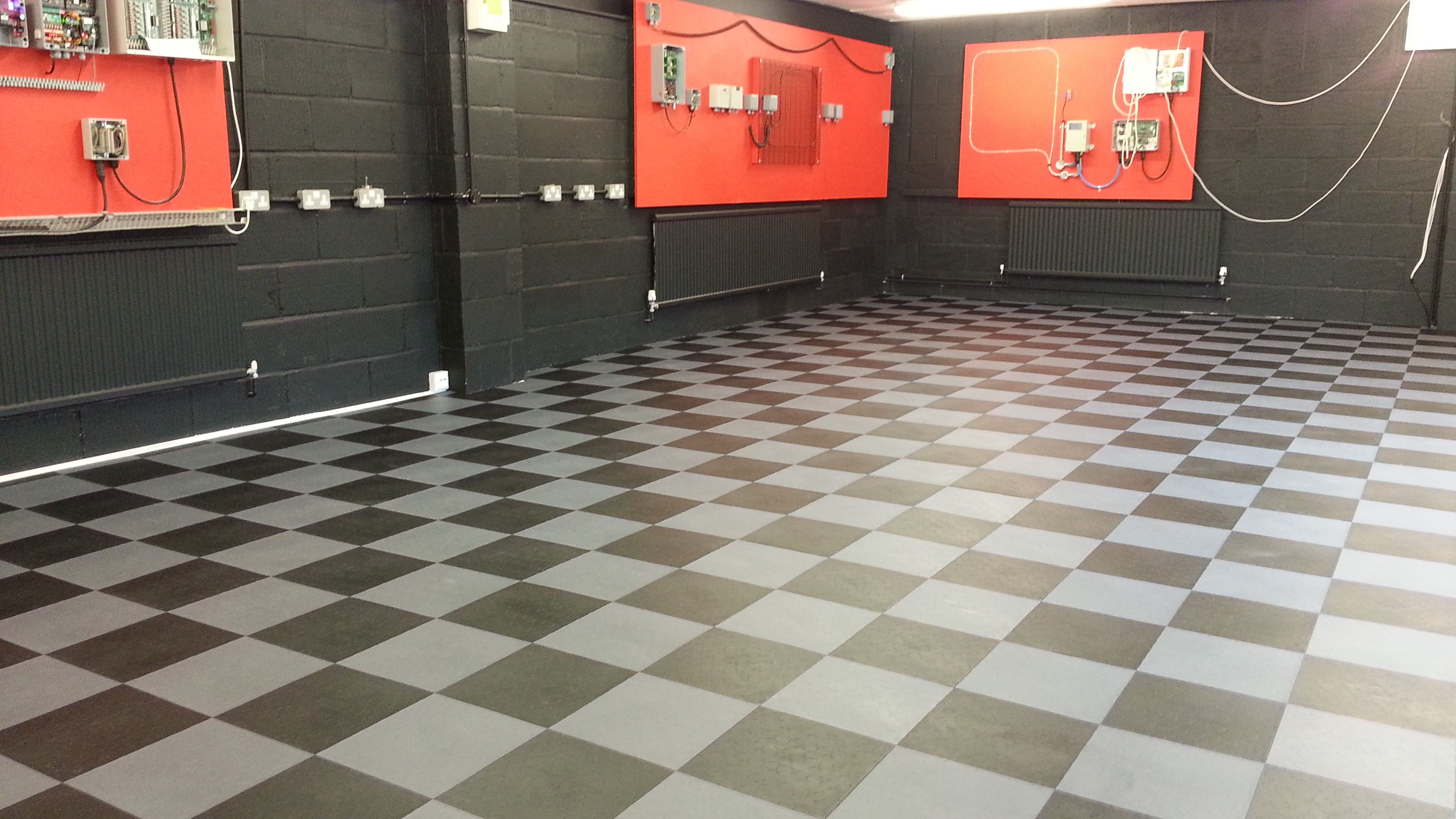 Revamp Your Garage With Dynotile Garage Floor Tiles Manufactured In