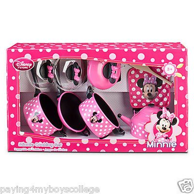 NEW in Box Mickey Minnie Mouse Clubhouse Cooking Kitchen Play Set ...
