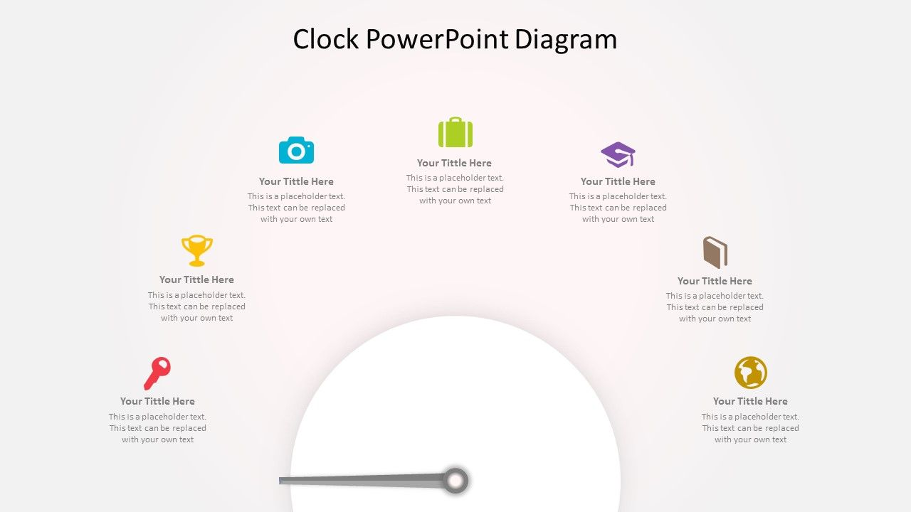Easy to edit clock concept diagram for powerpoint powerpoint easy to edit clock concept diagram for powerpoint maxwellsz