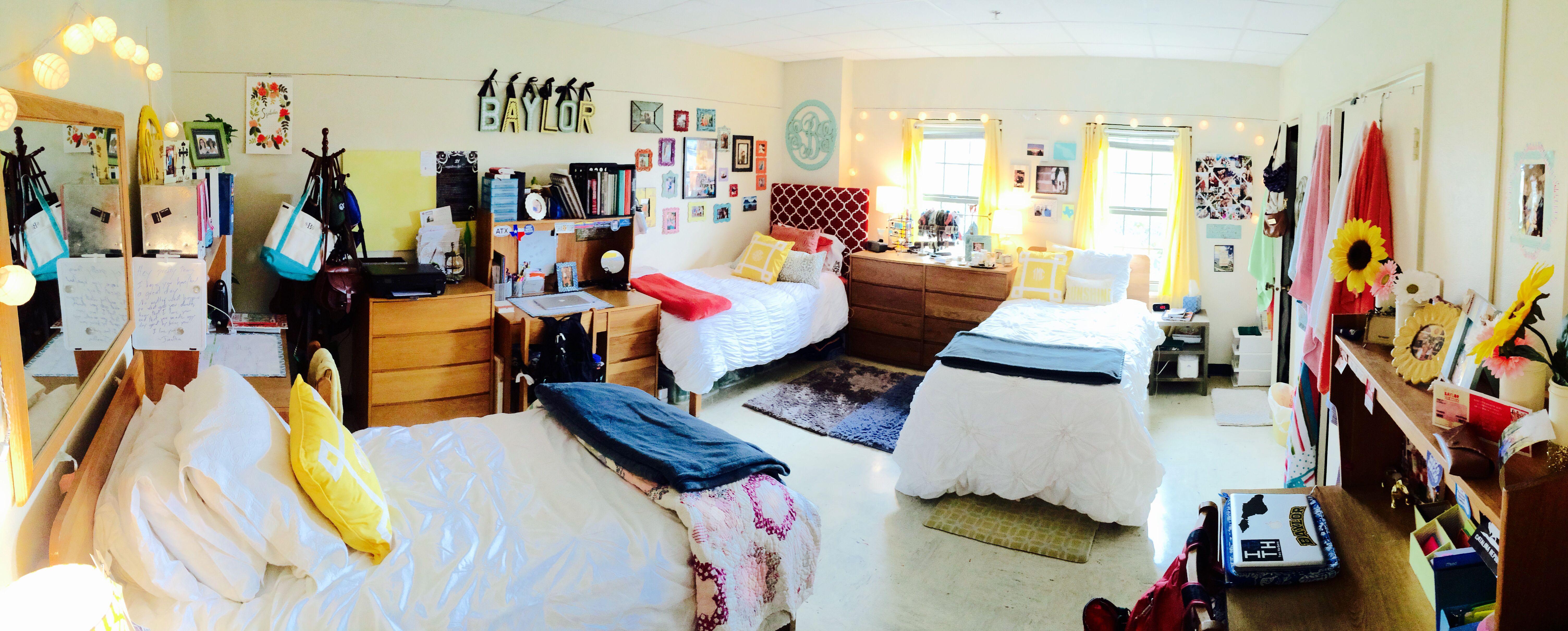 My Baylor Collins Dorm Room! | College bedroom decor, Dorm ...