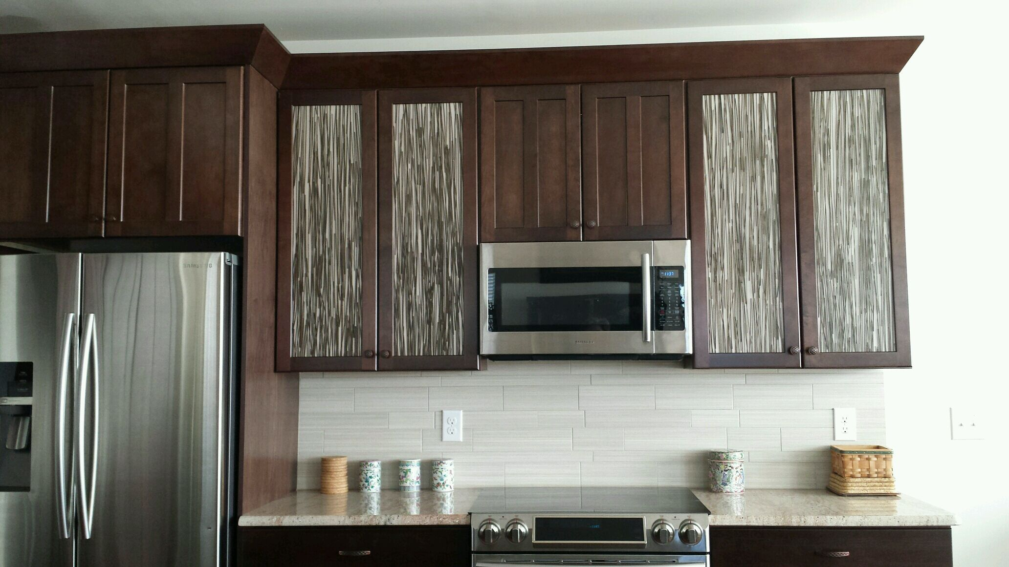 Awesome cabinet fronts the regal straw looks fantastic