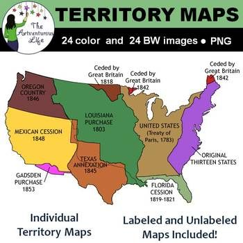 United States Territory Maps Clip Art | Native american map ...