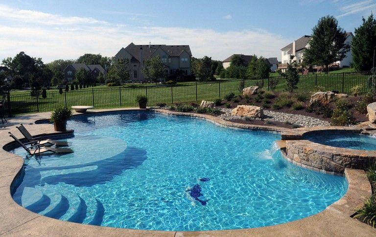 48 Extraordinary Kids Swimming Pool Design Ideas To Make Your Kids Happy Kids Swimmi Swimming Pools Inground Children Swimming Pool Swimming Pools Backyard