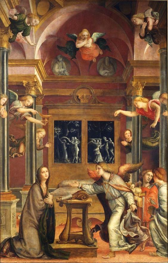 Bernardo Zenale Annunciazione 1510 1512 Arte Religioso Arte