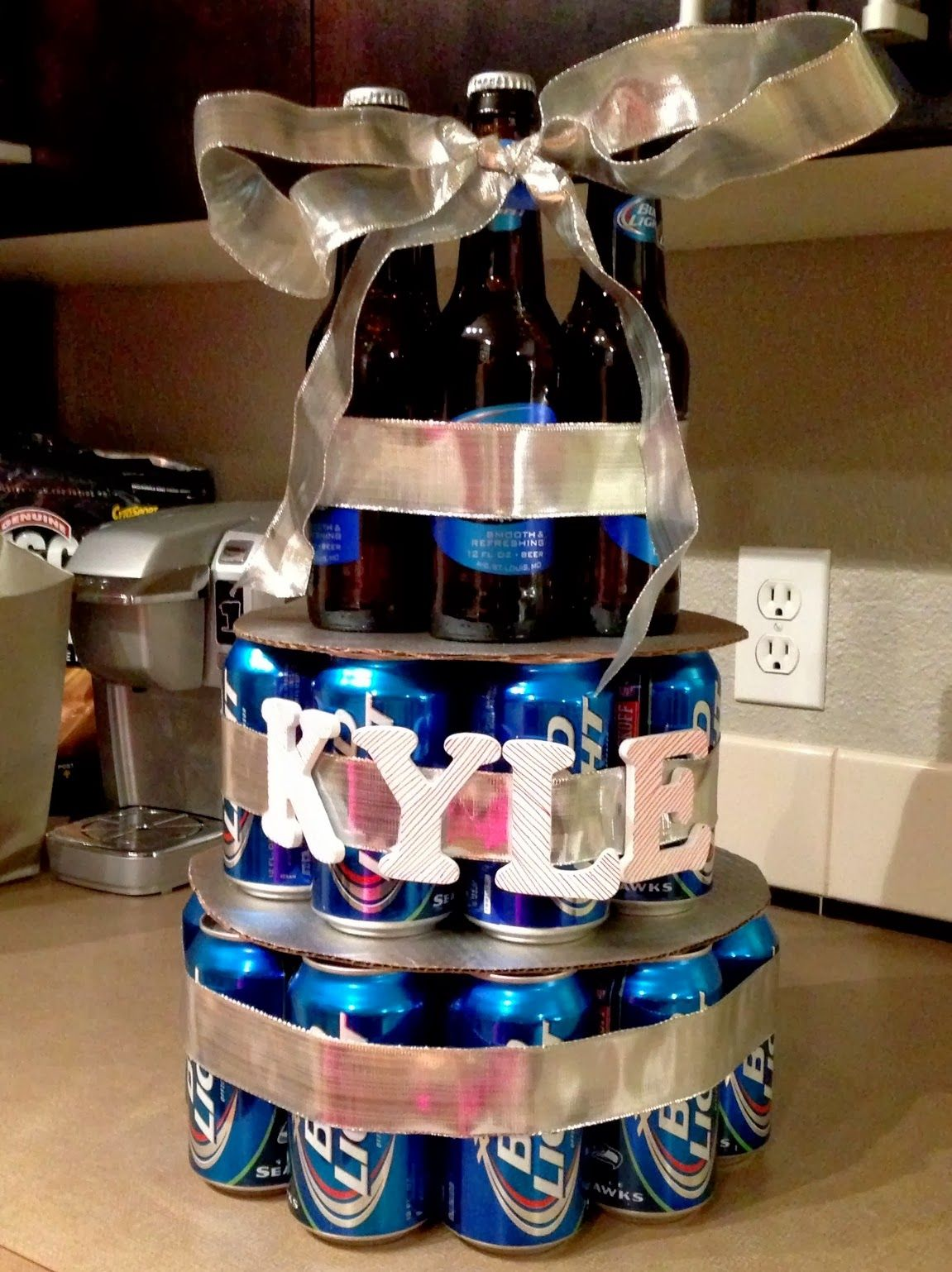 Man Bouquet With Beer Google Search Man Gift