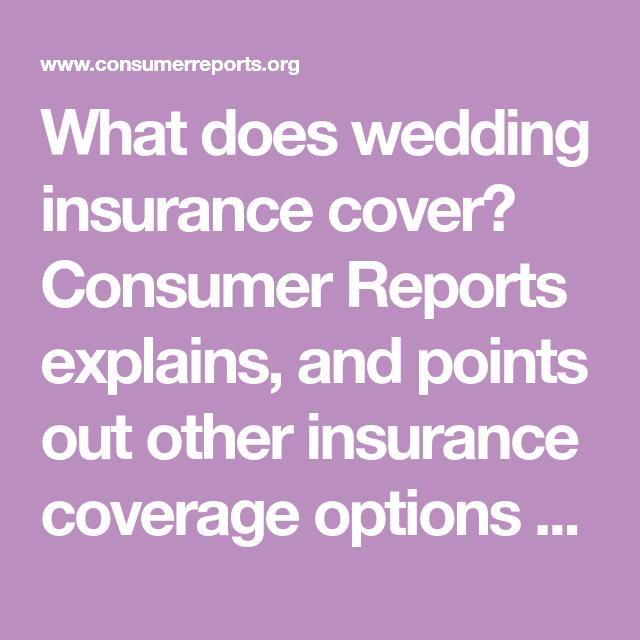 Wedding Insurance Coverage: Should You Buy Wedding Insurance?