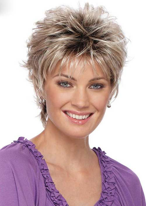 Popular Hairstyles For Women cute short wavy hairstyles for women 2017 Hairstyles For Women Over 40 In 2016 Best Hairstyles Collections