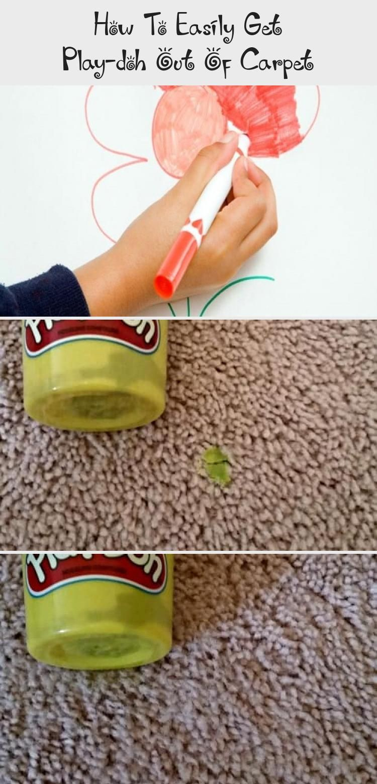 How To Easily Get Play Doh Out Of In 2020 How To Clean Carpet