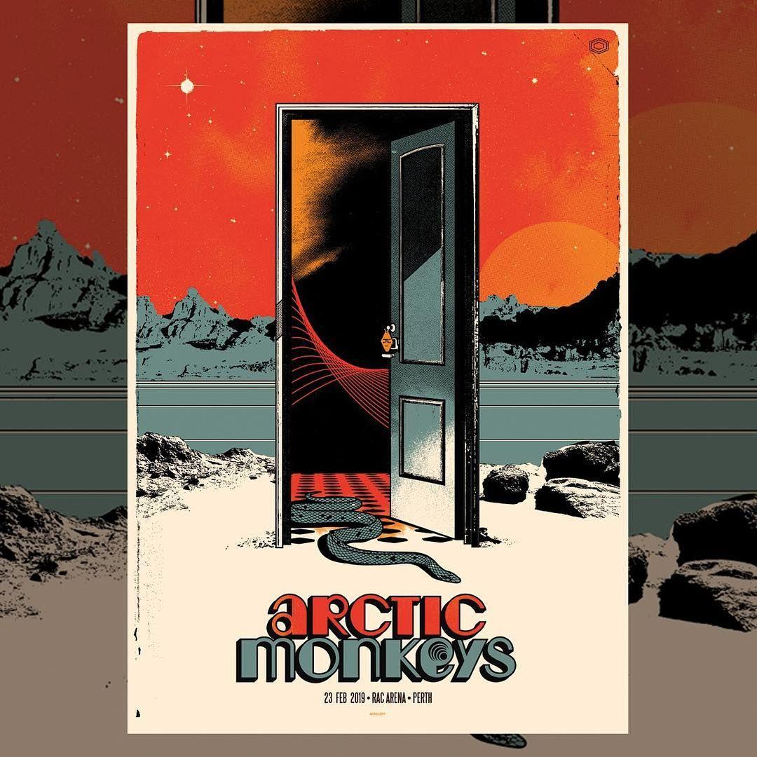 Arctic Monkeys On Instagram Available Tonight In Perth Minsloff Arctic Monkeys Arctic Artic Monkeys